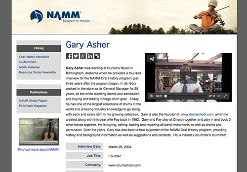 Gary Asher - Instructor & Founder
